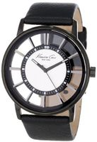 Kenneth Cole New York KC1752 Transparency Classic See-Thru Dial Round Case