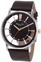 Kenneth Cole New York KC1781 Transparent Clear Dial Round
