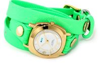 La Mer Collections LAMERNEON_4GOLDODYSSEY Neon Green/Gold Odyssey