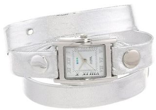 La Mer Collections LMMTW1002 Silver Wrap