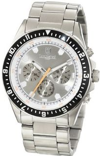 Lancaster OLA0483SSMB-GR Chronograph Silver Dial Stainless Steel