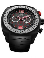 LAPIZTA Accentor 48mm Chronograph Racing - Black and Red L23.1602