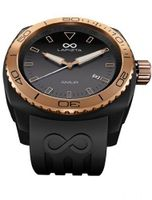 LAPIZTA Amur Ladies Sport - Black Case, Rose Gold, Black Dial L26.2101