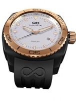 LAPIZTA Amur Ladies Sport - Black Case, Rose Gold, White Dial L26.2102