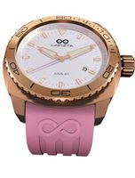 LAPIZTA Amur Ladies Sport - Rose Gold Case, Pink Accents, White Dial L26.2103
