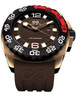 LAPIZTA Audax 300M Diver's - 43mm Brown and Gold L22.1305