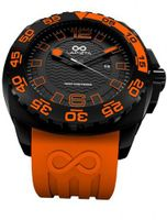 LAPIZTA Audax 300M Diver's - 43mm Orange and Black L22.1302