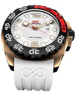 LAPIZTA Audax 300M Diver's - 43mm White and Gold L22.1304