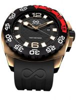 LAPIZTA Audax 300M Diver's - 48mm Black and Gold L22.1404