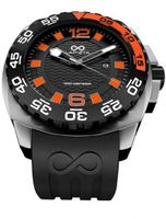 LAPIZTA Audax 300M Diver's - 48mm Black & Orange, Stainless Steel L22.1403