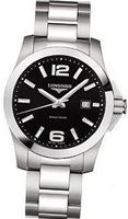Longines Conquest Black Dial Stainless Steel L36594586