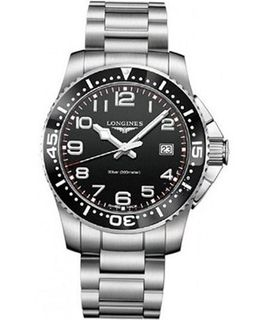 Longines HydroConquest Black Dial Stainless Steel L36894536