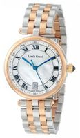 "Louis Erard 11810AB04.BMA27 ""Romance"" Stainless Steel and Gold-Plated Bracelet"