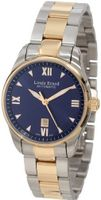 Louis Erard 20100AB25.BMA20 Heritage Automatic Blue Dial Steel and Rose Gold PVD