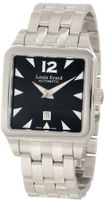 "Louis Erard 20700AA02.BMA18 ""Emotion"" Square Automatic Black Dial Steel Dress"