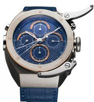 Louis Moinet Jules Verne Instrument 2 Midnight Blue Dial