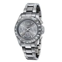 LTD Aluminium Collection Unisex Quartz with Grey Dial Chronograph Display and Grey Bracelet LTD 031901