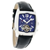 Magnus Halifac Blue Day/Date Dial Leather Band Automatic M111msb01