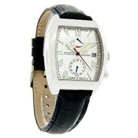 Magnus Madrid Power Reserve Black Leather Strap Automatic M109msb75