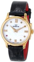 Marvin M020.51.77.74 Malton Analog Display Swiss Quartz Black