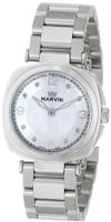 Marvin M022.12.77.12 Cushion Analog Display Swiss Quartz Silver