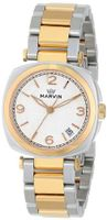 Marvin M022.32.34.32 Cushion Analog Display Swiss Quartz Two Tone