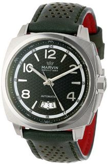Marvin M119.13.94.67 Malton 160 Cushion Automatic Stainless Steel Green Dial and 38-Hour Power Reserve