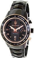 Maserati Corsa R8873610002 Black Stainless-Steel Analog Quartz with Black Dial