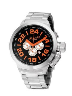 Dark Orange Chronograph