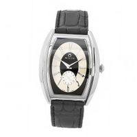 Milus AGE005 Agenios Handwinding Automatic Black Dial Beige Accent