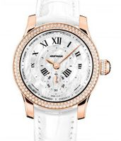 Montblanc Collection Villeret 1858 Seconde Authentique Diamonds