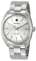 Movado 0606360 Datron Stainless-Steel Silver Round Dial