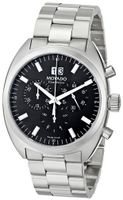 Movado 0606476 Datron Quartz Chronograph Stainless-Steel Black Dial