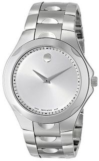 Movado 606379 Luno Sport Stainless-Steel Silver Round Dial Bracelet