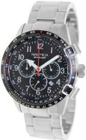 Nautica Bfc 44 A24005G Silver Stainless-Steel Quartz with Black Dial