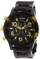 Nixon 42-20 Chrono All Black/Tortoise, One Size  Nixon