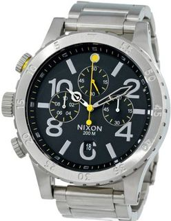 Nixon 48-20 Chrono - ( Black )
