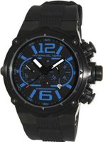 Officina Del Tempo - Power - 49mm Chronograph - OS21 Black PVD - Blue