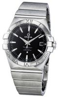 Omega 123.10.35.20.01.001 Constellation Chronometer Black Dial