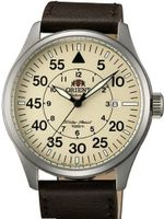 Orient 21-Jewel Automatic Aviator Flight with Brown Leather Strap ER2A005Y