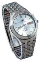 Orient #BEM5V002W Facet Glass Stainless Steel Automatic