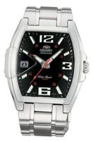 Orient #CERAL004B Urban Stainless Steel Black Dial Automatic