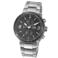 Oris 01 674 7659 4174 07 8 25 10 TT1 Chrono Black Dial