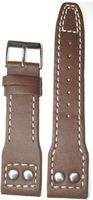 20mm Brown IWC Soft Calf Leather Pilot Strap 115/75