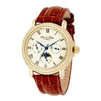 Pere de Temps Unisex 3011 Genese Mundial Automatic Mechanical Stainless Steel with Yellow Gold Overlay