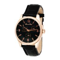Pere de Temps Unisex Automatic Mechanical Stainless Steel with Rose Gold Overlay Power Reserve