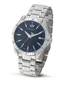 Philip Blaze Analogue R8253165235 with Quartz Movement, Blue Dial and Stainless Steel Case