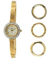 Pierre Jacquard BZ1 Gold-Tone 4pc Interchangeable Bezel Gift Set