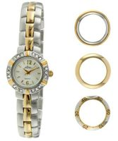 Pierre Jacquard BZ5 Two-Tone Bezel Interchangable Gift Set