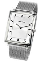 Pierre Lannier 239B128 Analog Quartz with Silver Dial and Milanese Mesh Steel Bracelet